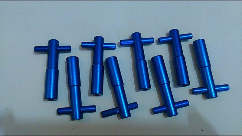 Wing Nuts - Parafuso Tampa de Válvulas AP em Aluminio
