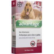 Antipulgas Advantage para Cães e Gatos G (1 Bisnaga)