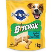 Biscoito Pedigree Biscrok para Cães Adultos de Raças Pequenas 1000g