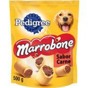 Biscoito Pedigree Marrobone Carne Para Cães Adultos 500g