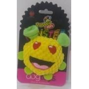Brinquedo de Pelúcia para Cães Power Pets Monster Amarelo Médio
