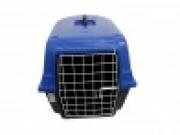 Caixa Plástica de Transporte com Grade de Ferro n.3 Cor Azul