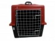 Caixa Plástica de Transporte com Grade de Ferro n.4 Cor Vermelha