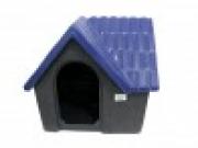 Casa Plástica Bangalô N.3 Azul e Cinza
