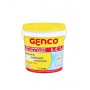 Cloro Genco L.E granulado Múltipla ação 3 em 1 Balde 2.5 kg - Piscinas