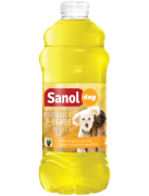 Eliminador de Odores Citronela Sanol Dog para Cães 2 litros