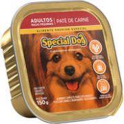 Patê Special Dog sabor Carne para Cães de Raças Pequenas Adultos 150g