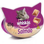 Petisco Whiskas Temptations Salmão para Gatos Adultos - 40 g