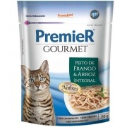 Premier Gourmet Sachê Frango para Gatos Adultos 70g