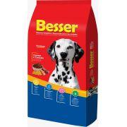 Ração Besser Natural Premium para Cães  Adultos Carne e Cereais 25k