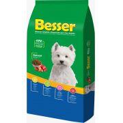 Ração Besser Natural Premium para Cães Adultos Raças Pequenas e Médias 15k