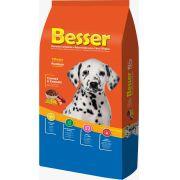 Ração Besser Natural Premium para Cães Filhotes Carne e Cereais 10k