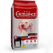 Ração Dog Excellence Cães Adultos Raças Grandes Cordeiro e Arroz 15K