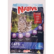 Ração Gatos Native Cats Mix 15k