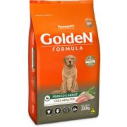 Ração Golden Formula Cães Adultos Frango e Arroz 20k
