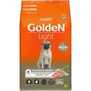 Ração Golden Formula Cães Adultos Light Mini Bits Frango e Arroz 3k