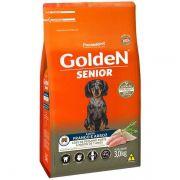 Ração Golden Formula Cães Sênior Mini Bits Frango e Arroz 3k