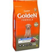 Ração Golden Fórmula para Cães Filhotes Sabor Carne e Arroz 15 k