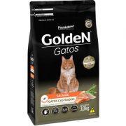 Ração Golden Gatos Adultos Castrados Salmão 3k