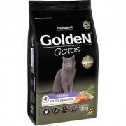 Ração Golden Gatos Adultos Salmão 10k