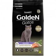 Ração Golden Gatos Adultos Salmão 3k