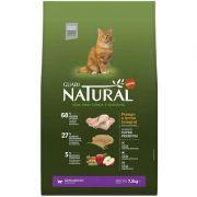 Ração Guabi Natural Frango e Arroz Integral para Gato Adulto 7.5k