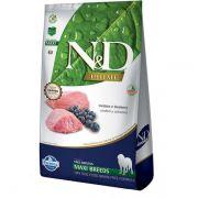 Ração N&D Cordeiro e Blueberry adult Maxi 10.1 k