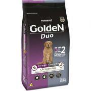 Ração para Cães Adultos Golden Fórmula Duo Salmão, Ervas e Cordeiro e Arroz 15 k