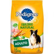 Ração Pedigree Equilíbrio Natural para Cães Adultos de Raças Médias e Grandes 15kg