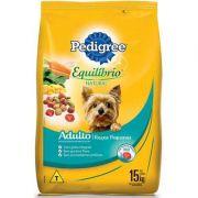 Ração Pedigree Equilíbrio Natural para Cães Adultos de Raças Pequenas 15 k