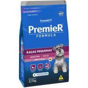 Ração Premier Formula Cães Adultos Raças Pequenas 2,5K