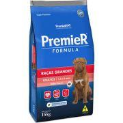 Ração Premier Pet Formula Carne Cães Adultos Raças Grandes 15k