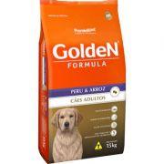 Ração Golden Formula Peru & Arroz para Cães Adultos 15 k