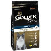 Ração Premier Pet Golden Gatos Castrados Sênior Frango 3k