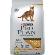 Ração Seca Nestlé Purina Pro Plan Frango e Arroz Calorias Reduzidas para Gatos Adultos 1,5k