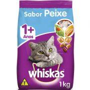 Ração Seca para Gatos WHISKAS® Adulto Sabor Peixe 1kg