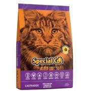 Ração Special Cat Premium para Gatos Adultos Castrados 10,1k