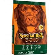 Ração Special Dog Premium Gold Carne para Cães 15 Kg