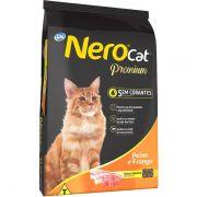 Ração Total Nero Cat Peixe e Frango Para Gatos Adultos 20k