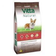 Ração Vitta natural para cães Adultos Raças Pequenas Carne 15 k