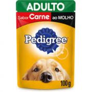 Sachê Pedigree Carne ao Molho para Cães Adultos - 100 g