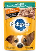 Sachê Pedigree Frango ao Molho para Cães Adultos de Raças Pequenas - 100 g