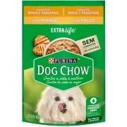 Sachê Purina Dog Chow Frango para Cães Adultos Raças Pequenas 100g