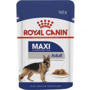Sachê Royal Canin Maxi Adult para Cães Adultos de Raças Grandes 140g