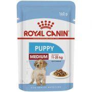 Sachê Royal Canin Puppy Medium para Cães Filhotes Raças Médias 140g