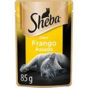 Sachê Sheba Sabor Frango Assado para Gatos Adultos - 85 g