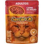Sachê Special Cat Carne para Gatos Adultos 85g