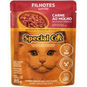 Sachê Special Cat Carne para Gatos Filhotes 85g