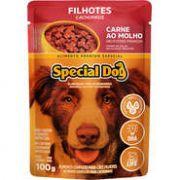 Sachê Special Dog Carne para Cães Filhotes 100g