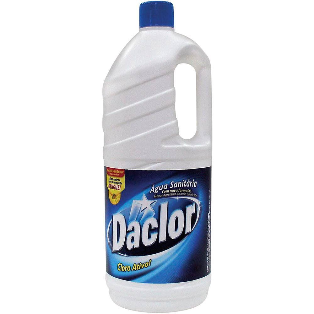 Agua Sanitária Daclor 2 litros